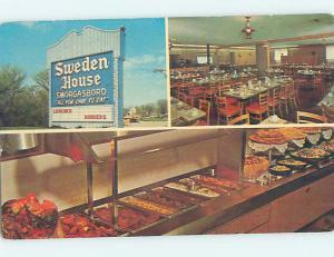 Unused Pre-1980 SWEDEN HOUSE RESTAURANT Naperville Illinois IL hs4471