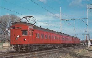 Victorian Railways E.M.U. Set Postcard Train Railroad