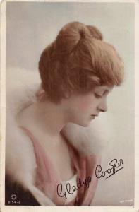 British Beauty Actress Gladys Cooper Real Photo 1918