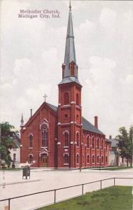 Exterior,  Methodist Church,  Michigan City,  Indiana,  00-10s