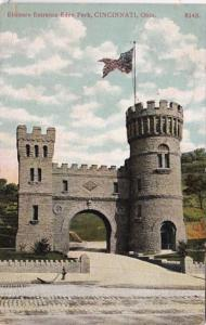 Ohio Cincinnati Elsinore Entrance To Eden Park