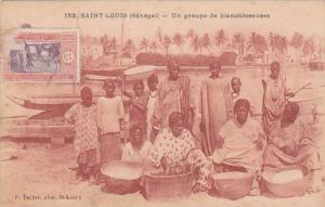 Senegal Saint Louis Un groupe de blenchisseuses 1923