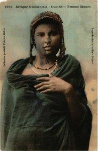 CPA AK Fortier 1699 Afrique Occidentale- Femme Maure SENEGAL (812107)