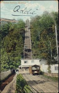 canada, MONTREAL, Quebec, Incline Railway, Train, Funicular (1906)