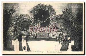 Old Postcard Tomb of Victor Hugo Cellars Pantheon