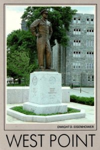 New York West Point Dwight D Eisenhower Statue United States Military Academy