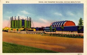 IL - Chicago. 1933 World's Fair, Century of Progress. Travel and Transport Bu...