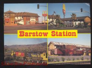 BARSTOW STATION CALIFORNIA ROUTE 66 MCDONALDS RESTAURANT