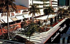 Florida Miami Beach Lincoln Road Mall 1969
