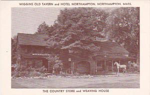 Massachusetts Northampton Wiggins Old Tavern and Hotel Northampton Country St...