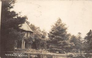Harbor Beach Michigan~Resort Amidst Tall Trees~c1910 RPPC
