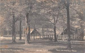 Pavilion and East Park Clifton Springs NY Unused