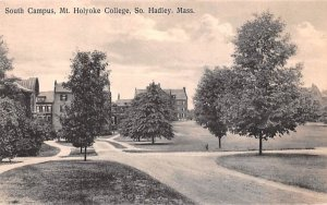 South Campus South Hadley, Massachusetts Postcard
