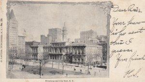 City Hall , NYC , 1905