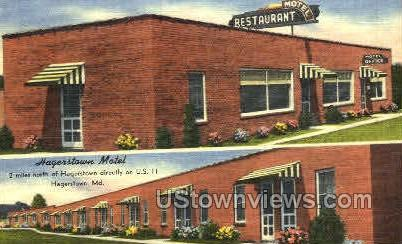 Hagerstown Motel Hagerstown MD 1950