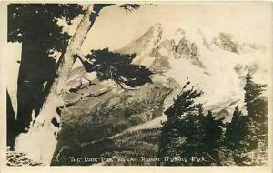 WA, Rainier National Park, Washington, RPPC, The Lone Pine Vista, Ranapar Studio