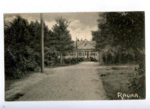 171839 FINLAND RAUHA Vintage real posted postcard