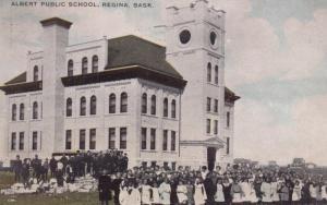REGINA , Saskatchewan , Canada , 1900-10s ; Albert Public School