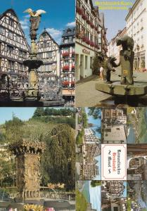 Mosel Bernkastel Kues Grizzly Bear 4x Monument Postcard s