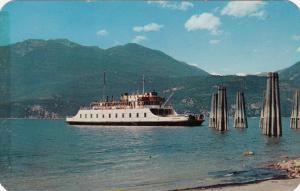 KOOTENAY LAKE , B.C. , Canada , 50-60s ; Ferry M.V. Anscomb