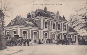 DECIZE , Nièvre , France , 00-10s : La Gare