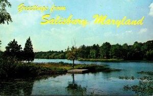 Maryland Salisbury Greetings Showing Tony Tank Creek
