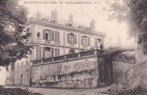 MONTREUIL SUR MER, Pas De Calais, France, 1900-1910s; Parvis Saint-Firmin