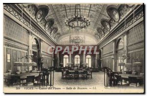 Postcard Old Vichy Casino Flower Room Baccaro
