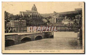 Le Treport - Le Pont Tournant - Old Postcard