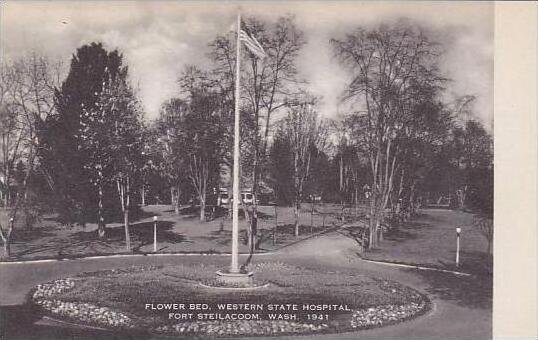 Washington Fort Steilacoom Flower Bed Western State Hospital Artvue