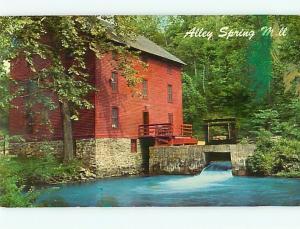 Postcard Alley Spring Mill Eminence Missouri # 337