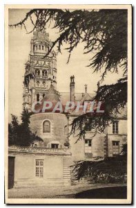 Postcard Old Tours L'Entree du Musee and Cathedrale St Gatien