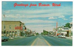 Greetings from Beaver, Utah