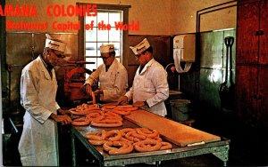 Iowa Amana The Amana Meat Shop Bratwurst Making