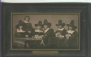 Postal 000170 :  Jan de Bray: Regents de hospice des Enfants Pauvres