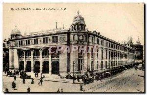 Marseille - Hotel Post - Old Postcard