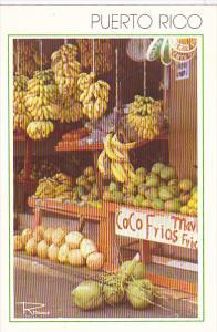 Puerto Rico Coco Frio Fruit Market