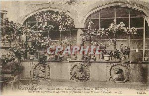 Old Postcard Montferrand House called Lucrece