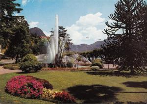 Switzerland, Suisse, LUGANO, Fontana Piazza Manzoni unused Postcard