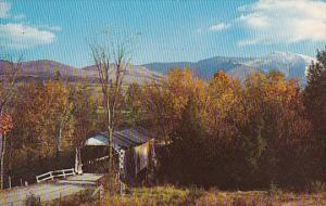 One Of The Old Covered Bridges In Lamoille County Littleton New Hampshire 1960
