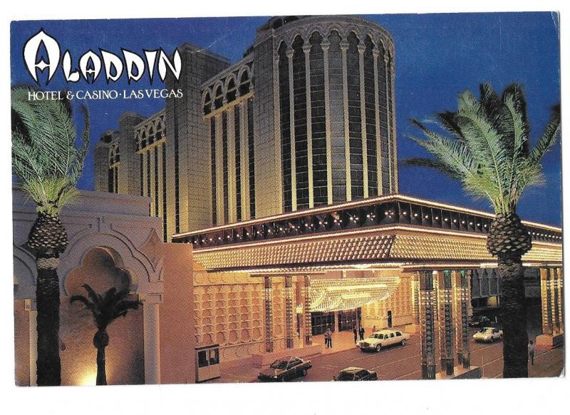 Aladdin Hotel & Casino Las Vegas Nevada now Planet Hollywood 4 by 6
