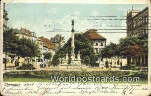 Theatertrasse m Siegesdenkmal Chemnitz Germany 1903