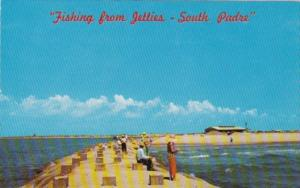 Texas South Padre Island Fishing From The Jetties