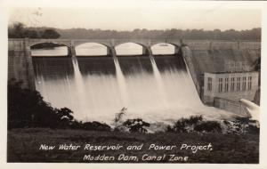 RP: New Water Reservoir and Power Project, MADDEN DAM, CANAL ZONE, 1920-40s