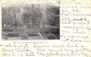 Pocantico Inn Park Margaretville, New York Postcard