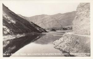 RP: FOSKET PASS , Idaho , 30-40s ; Box Canyon on Salmon River