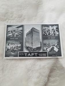 Antique Postcard, Hotel Taft