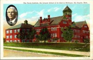 VTG Postcard Ferris Institute University Big Rapids Mich Woodbridge Ferris  161