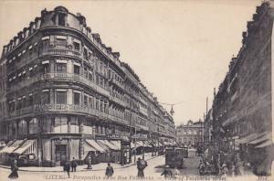 LILLE, Nord, France; 00-10s ; Perspective de la Rue Faiaherebe