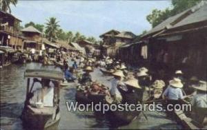 Dhonburi Thailand Floating Market  Floating Market